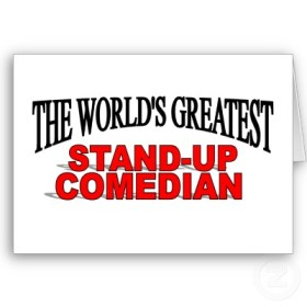 stand up comedian